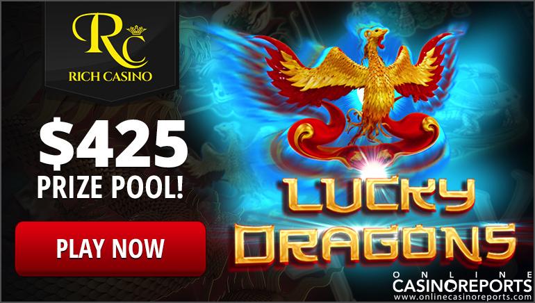 Krijg 60 Gratis Spins in de Exclusieve Lucky Dragons Tourney bij Rich Casino