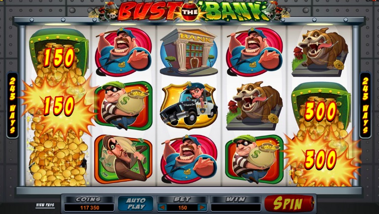 Microgaming Slot Optie: Bust the Bank