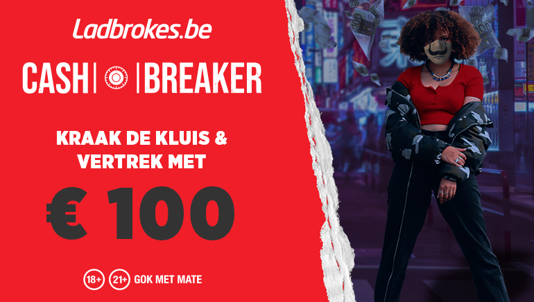 cash breaker - kraak de kluis & vertrek met €100