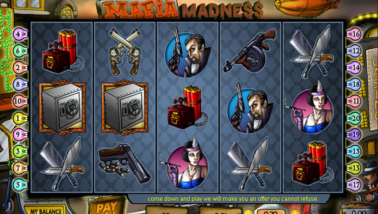 Mafia Madness - 100 Gratis Spins