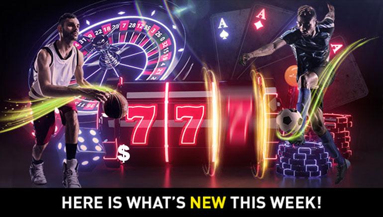 Nieuwe Spellen, Grote Winsten, en Spannende Live Actie Markeren de Week bij 777.be Casino